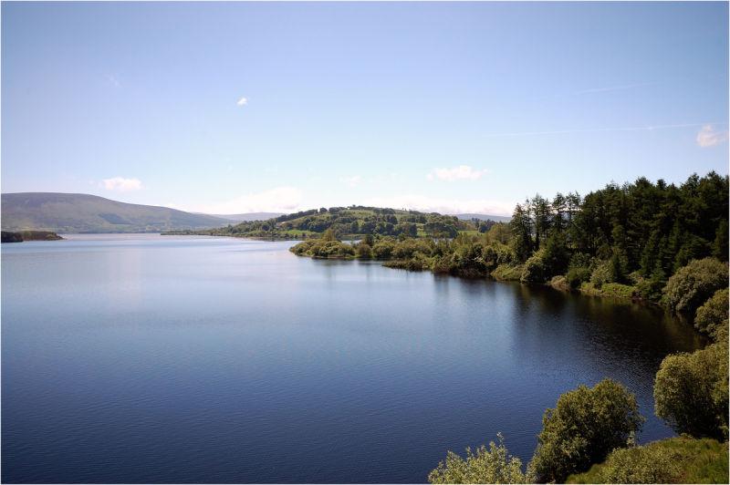 Lakes in Blessington Ireland