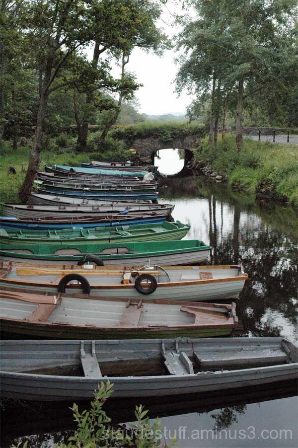 resting rowboats