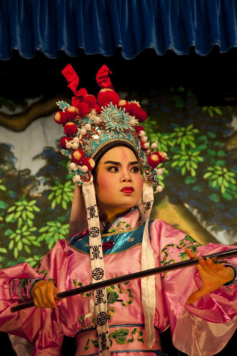 Chinese opera in Penang Malaysia