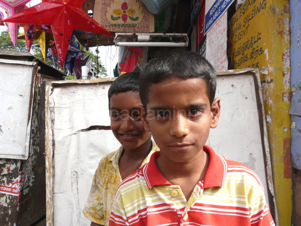 Street kids in Chenai
