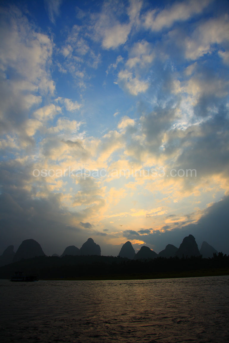 Sunrise in Yangshuo