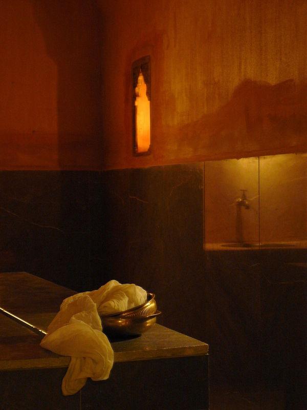 detalle de los baños árabes