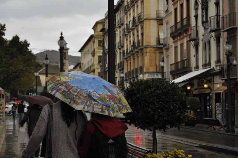 the umbrella traveler