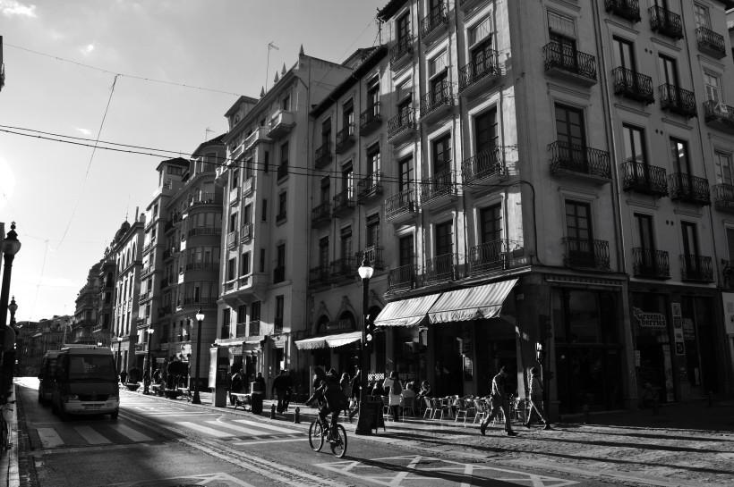 granada sunset street