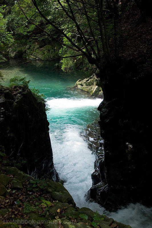 Seven Waterfalls in Kawazu (Deai-daru)