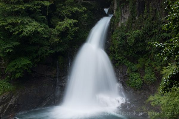 Seven Waterfalls in Kawazu (Oh-daru)