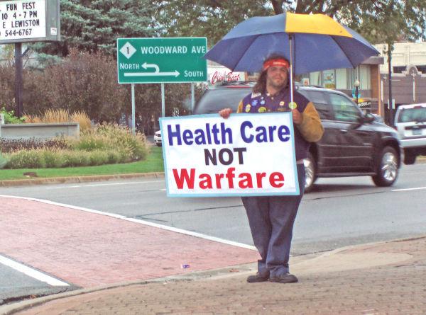 Make Health Not war