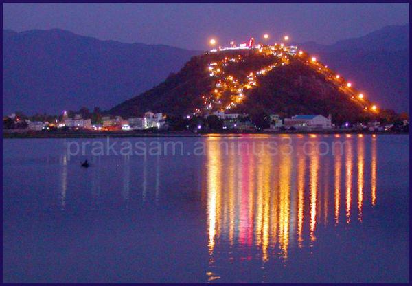 Palani Hill view at night