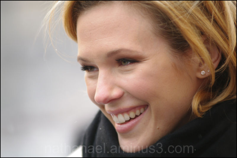 Snow smile...