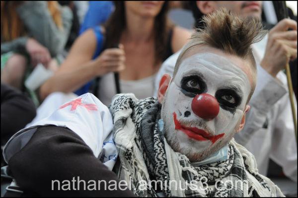 Inside me clown...