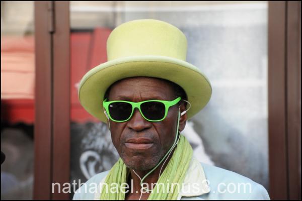 Green man...