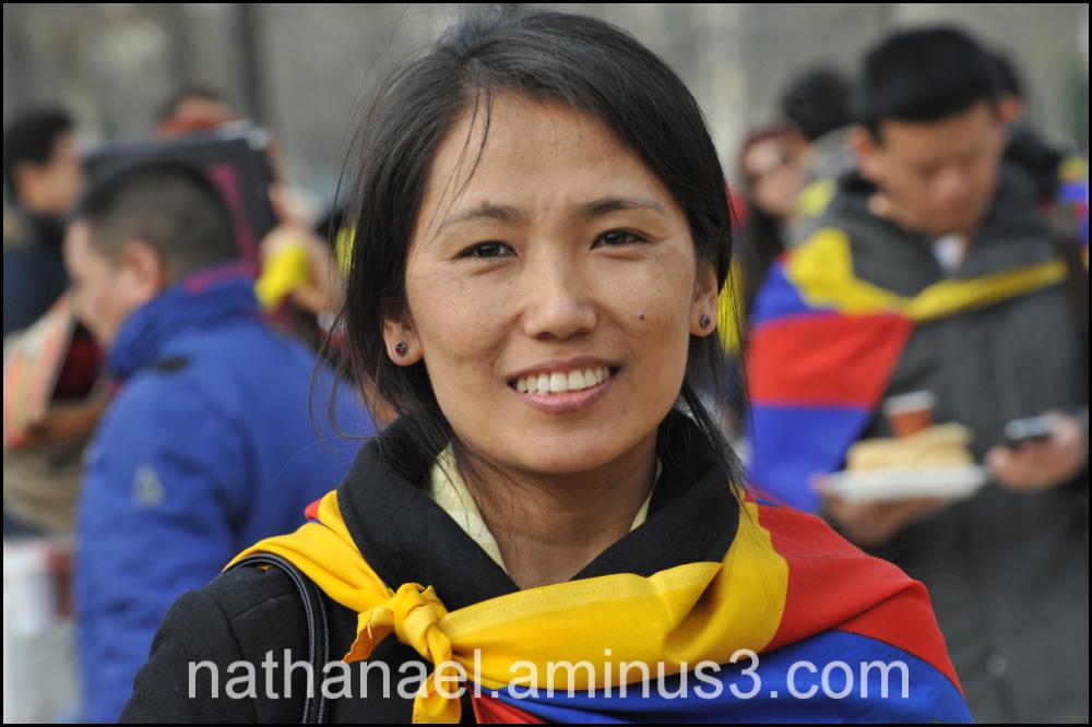 Tibet smile...