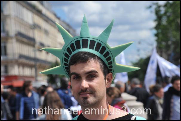 Freedom in Paris...