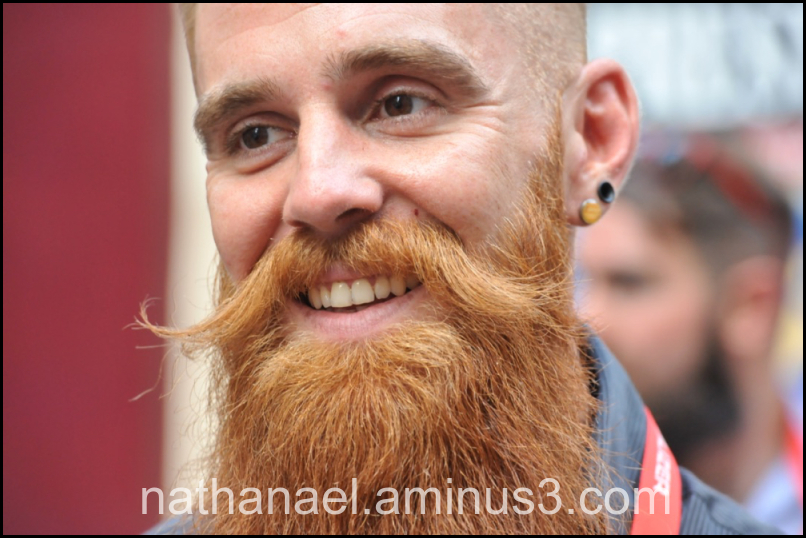 En barbe...