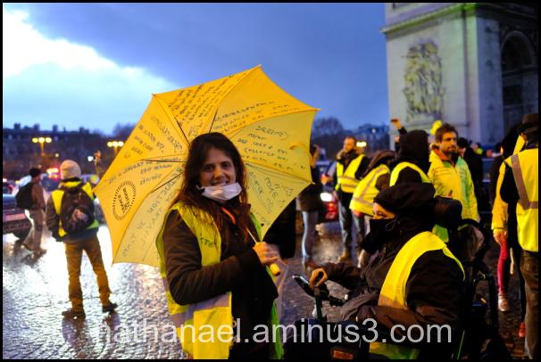 Yellow rain...