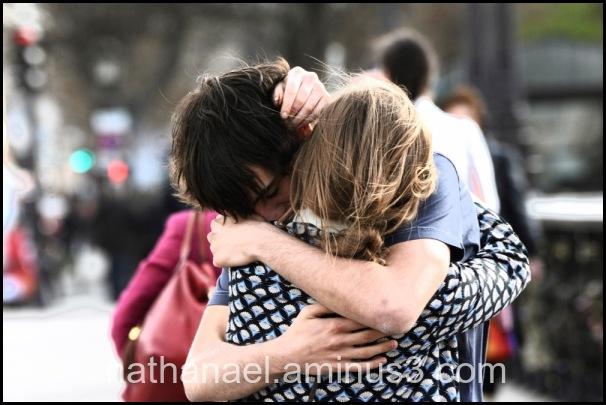 Souvenir kiss hug...