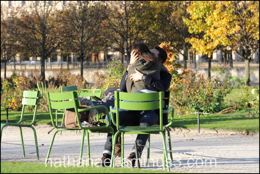 Green kiss, souvenir...
