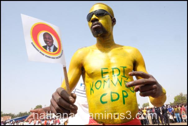 Yellow man...