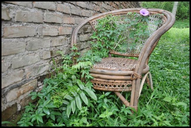 Garden chair Sumatra Indonesia