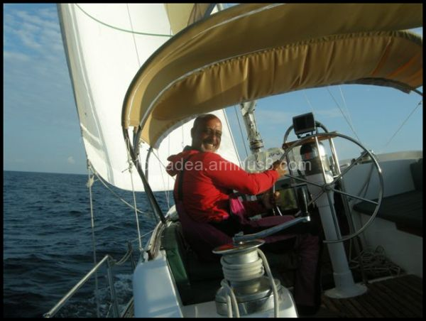 Jordi Gadea Sailing the South China Sea