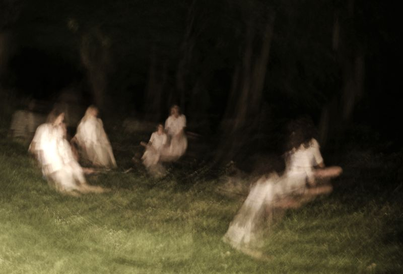Witch meeting in the Marcoussis parc