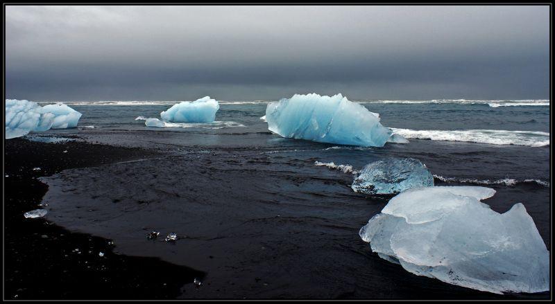 ice iceland seaside glacier rap