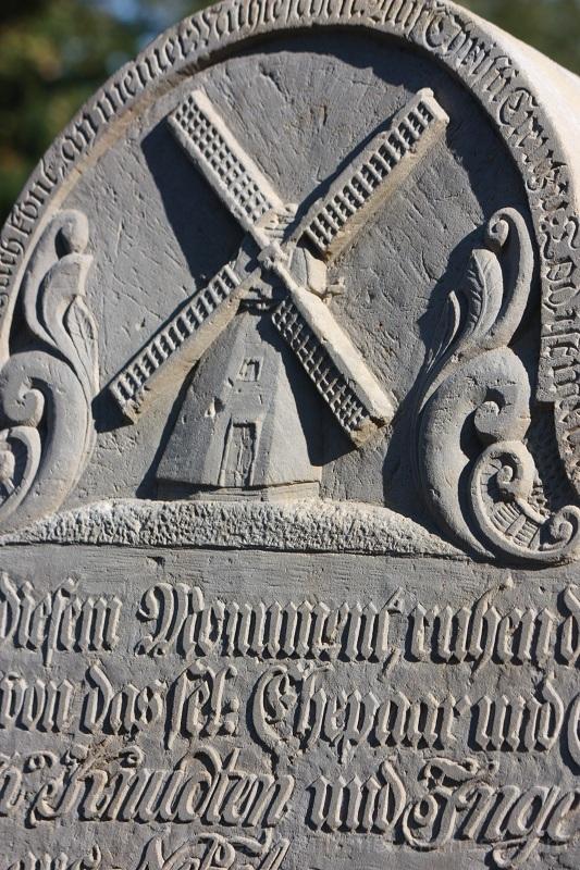 Amrum Grabstein