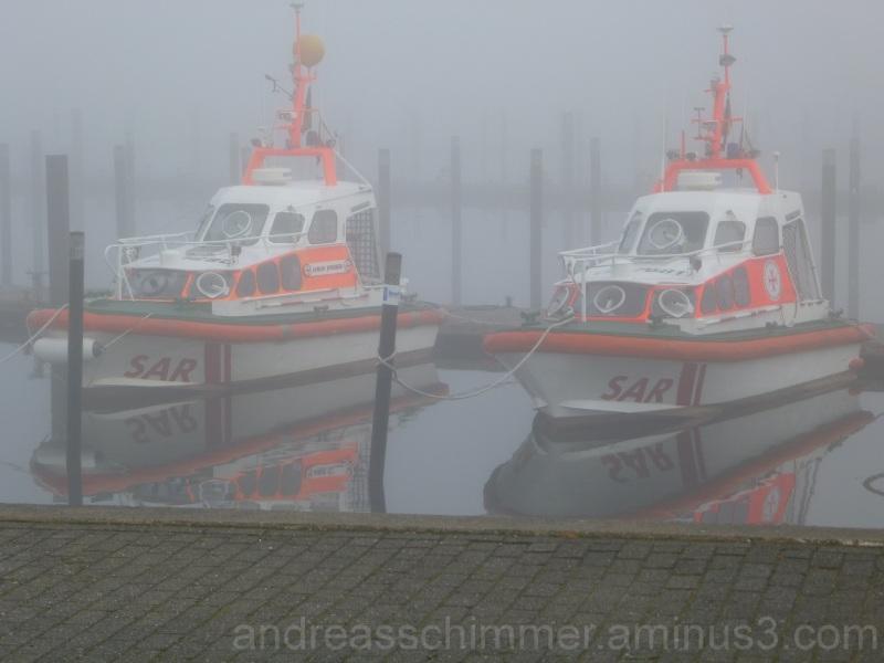 Nebel in Schilksee/Kiel