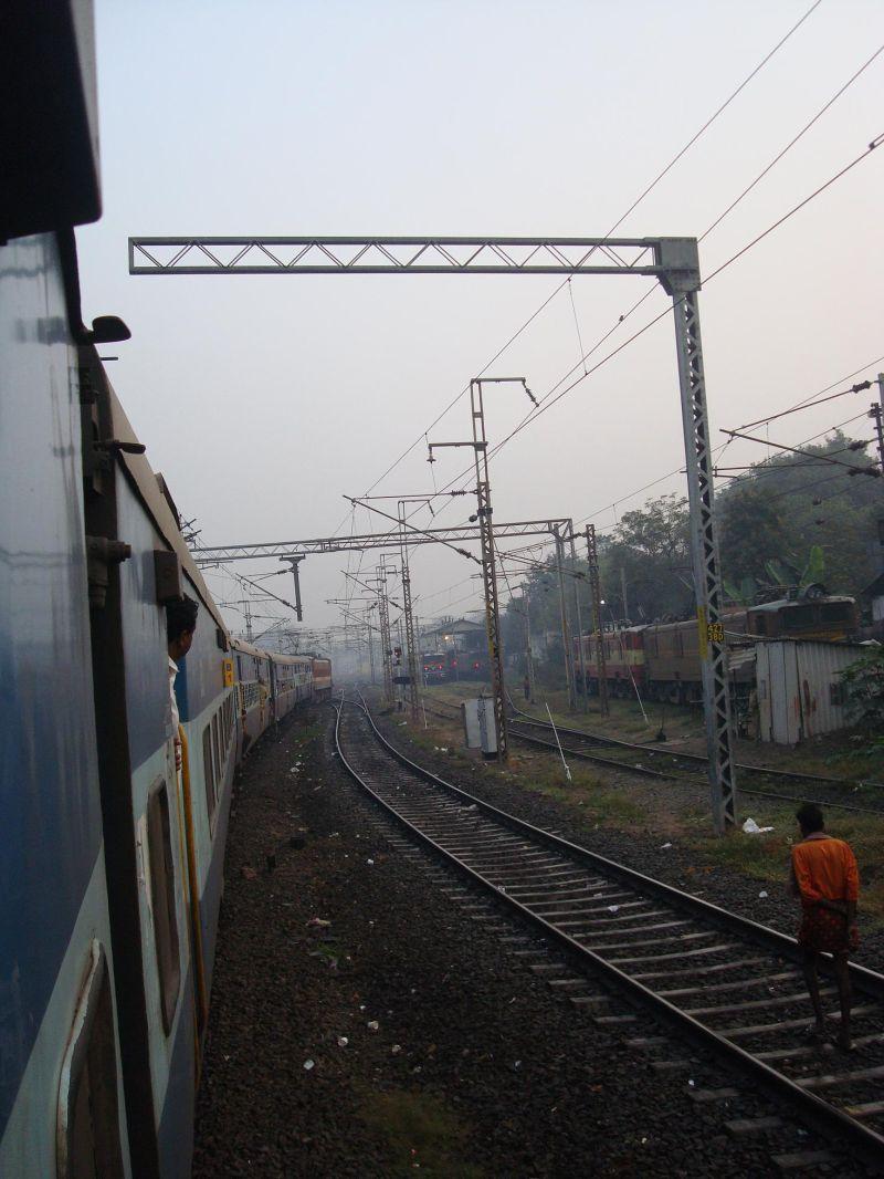 a train to vizag