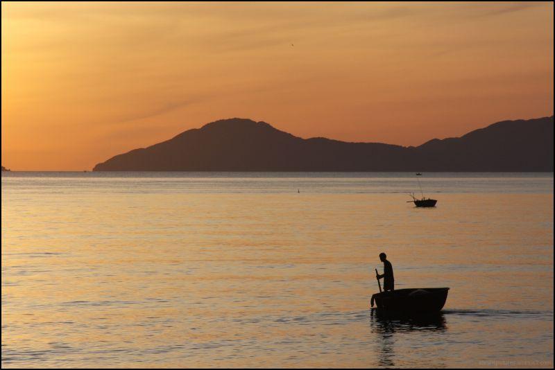 sunrise silhouette 3