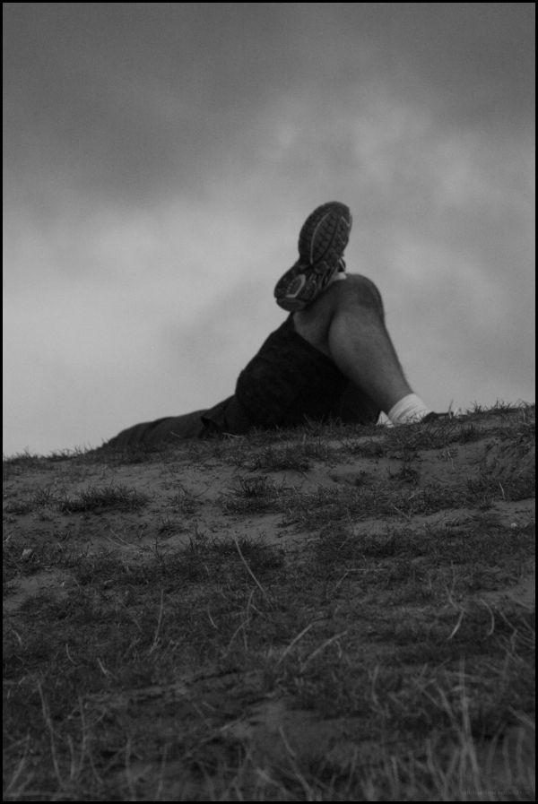 resting atop a hill