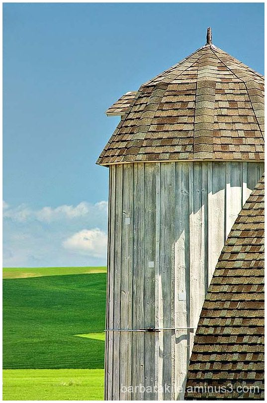 Lines of a Palouse Barn