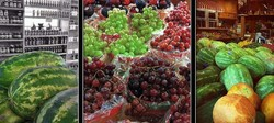 iphone triptych at farmer's market