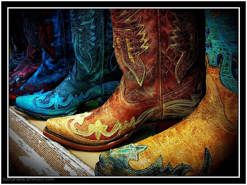 iphone image of western boots