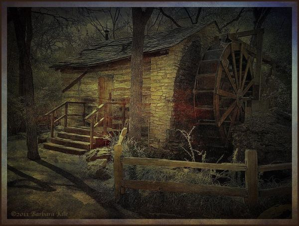 Cabin and Gristmill - iphone creation