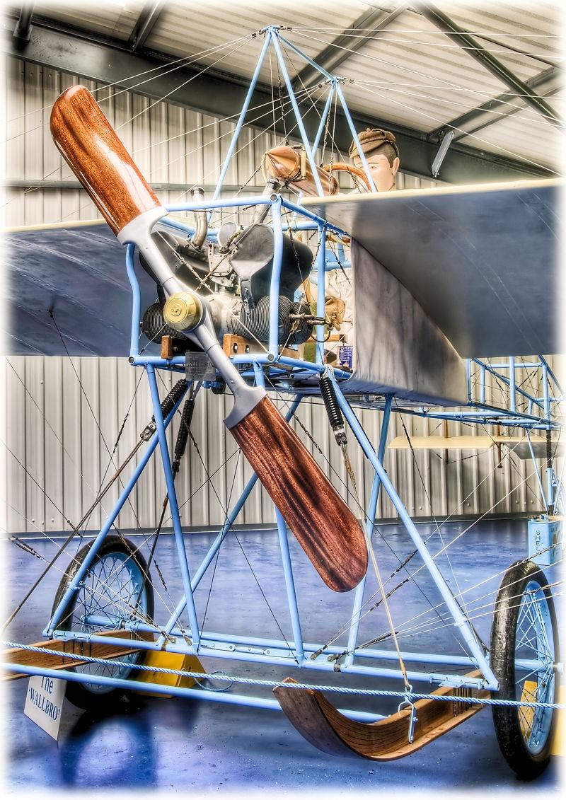 Wallbro monoplane replica