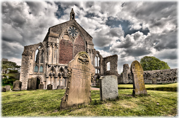 Binham Priory in Norfolk
