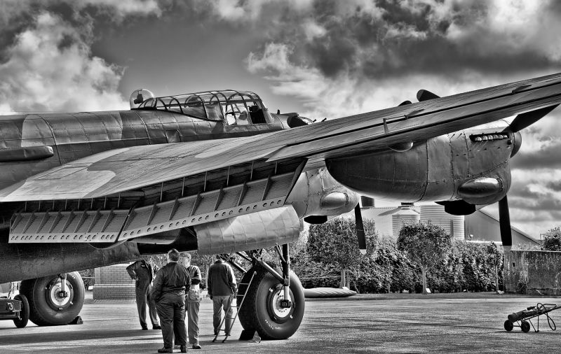 "Avro Lancaster nx611 ""Just Jane""."