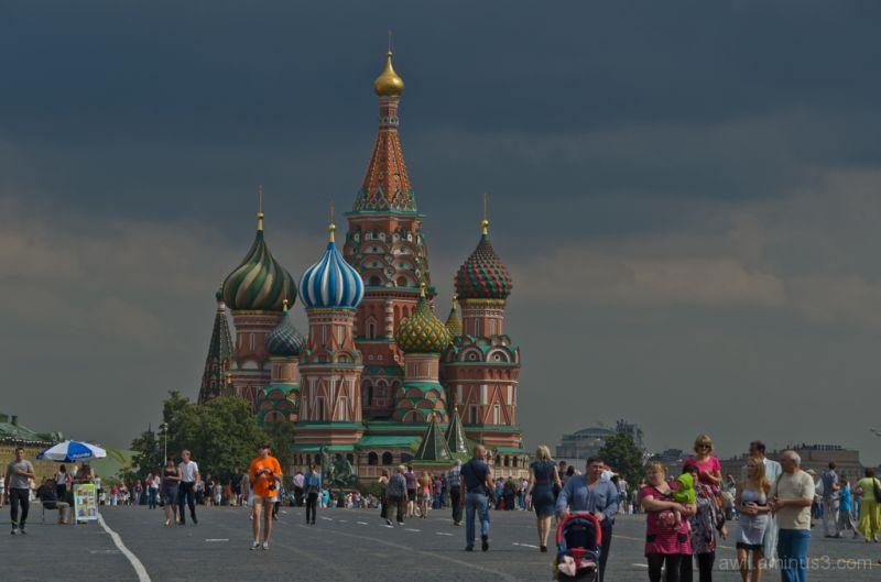 Basilique de Basile le Bienheureux -  Moscou