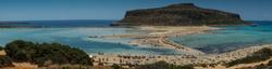 La Crète: la Lagune de Balos
