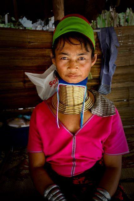 Chiang Mai, Thailand: Long Neck village