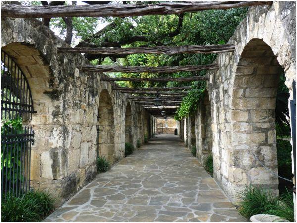 The Corridor at the Alamo, San Antonio, Texas