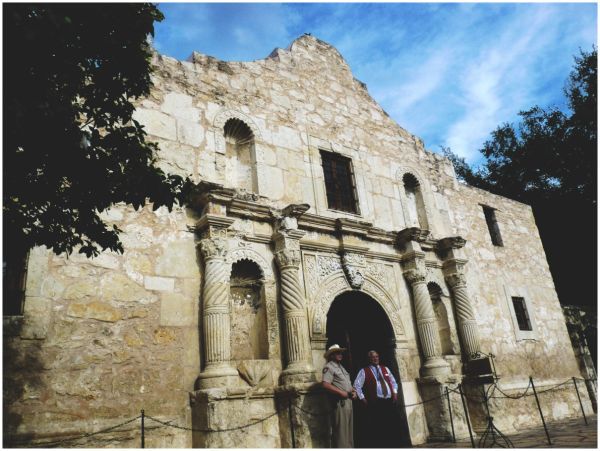 The Church at the Alamo, San Antonio, Texas
