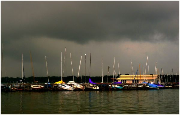 Storm Clouds Over White Rock Lake