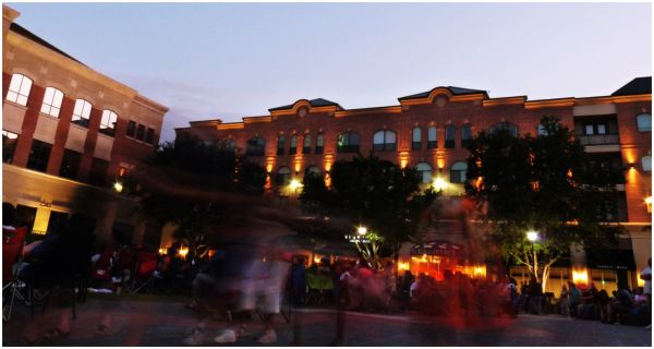 Dusk at Sugarland Townsquare - 1/2