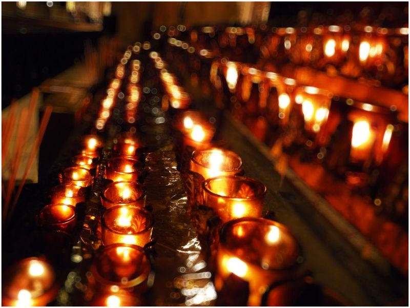 NYC Series - Votive Candles in St. Patrick's - 2/2
