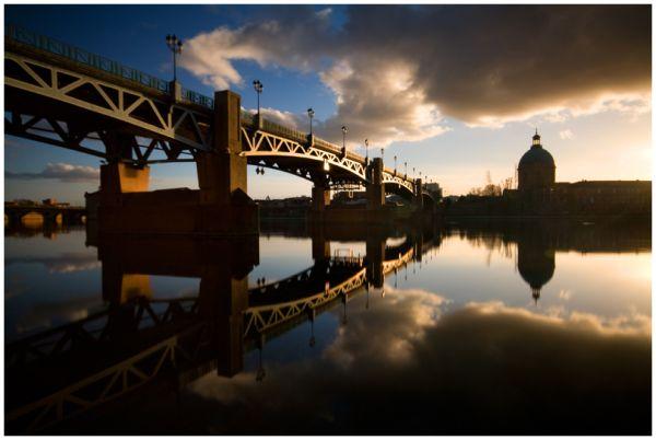 Toulouse, pont Saint-Pierre 3