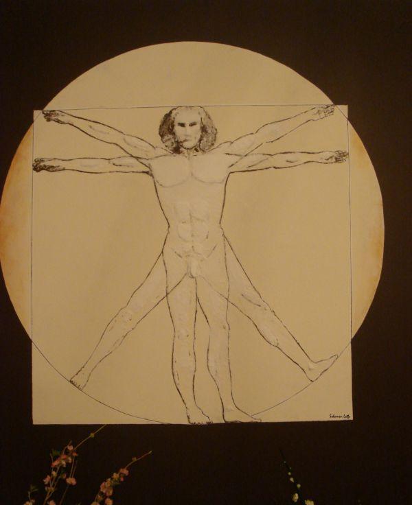 Solomon Lotfe's tribute to Leonardo da Vinci