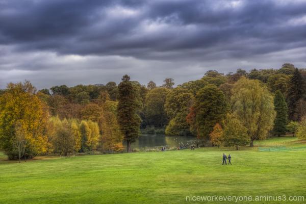 """""""Hampstead Heath"""" HDR Autumn"""