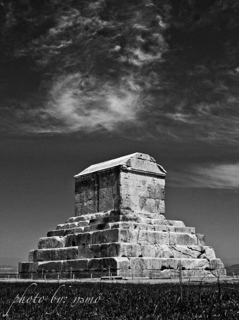 MY Big Hero's Tomb, Cyrus the Great